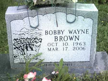 BROWN, BOBBY WAYNE - Jackson County, Arkansas | BOBBY WAYNE BROWN - Arkansas Gravestone Photos