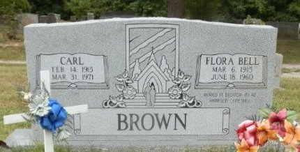 BROWN, FLORA BELL - Jackson County, Arkansas | FLORA BELL BROWN - Arkansas Gravestone Photos