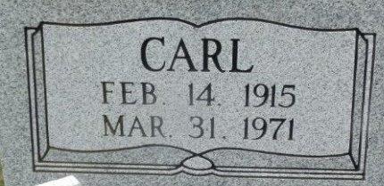 BROWN, CARL (CLOSE UP) - Jackson County, Arkansas | CARL (CLOSE UP) BROWN - Arkansas Gravestone Photos