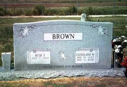 BROWN, CLEVELAND W - Jackson County, Arkansas | CLEVELAND W BROWN - Arkansas Gravestone Photos