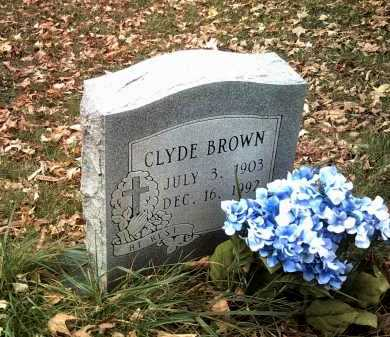 BROWN, CLYDE - Jackson County, Arkansas | CLYDE BROWN - Arkansas Gravestone Photos