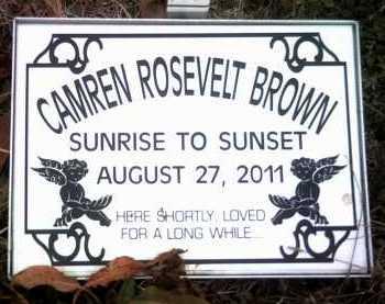 BROWN, CAMREN ROSEVELT - Jackson County, Arkansas | CAMREN ROSEVELT BROWN - Arkansas Gravestone Photos