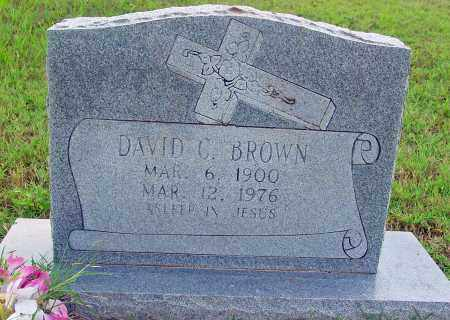 BROWN, DAVID C - Jackson County, Arkansas | DAVID C BROWN - Arkansas Gravestone Photos
