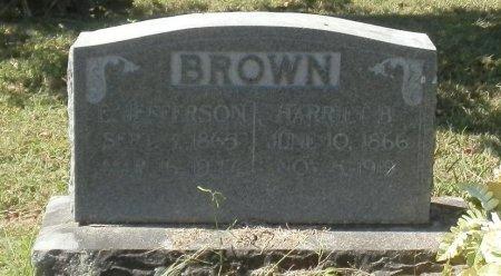 BROWN, HARRIETT B. - Jackson County, Arkansas | HARRIETT B. BROWN - Arkansas Gravestone Photos