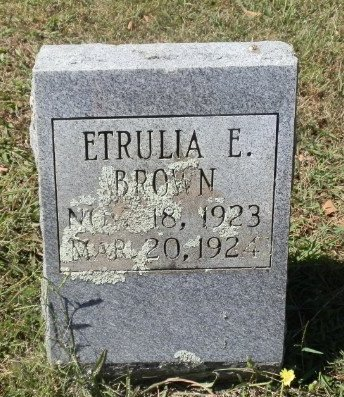 BROWN, ETRULIA E. - Jackson County, Arkansas | ETRULIA E. BROWN - Arkansas Gravestone Photos