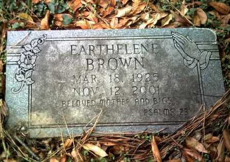 BROWN, EARTHELENE - Jackson County, Arkansas | EARTHELENE BROWN - Arkansas Gravestone Photos