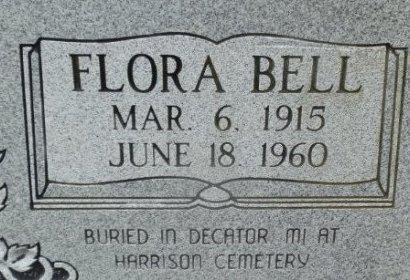 BROWN, FLORA BELL (CLOSE UP) - Jackson County, Arkansas   FLORA BELL (CLOSE UP) BROWN - Arkansas Gravestone Photos