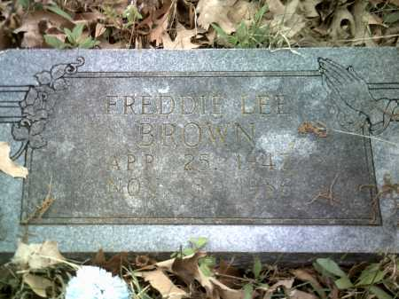 BROWN, FREDDIE LEE - Jackson County, Arkansas   FREDDIE LEE BROWN - Arkansas Gravestone Photos