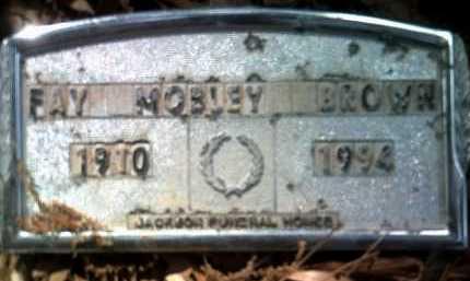 BROWN, FAYE - Jackson County, Arkansas   FAYE BROWN - Arkansas Gravestone Photos