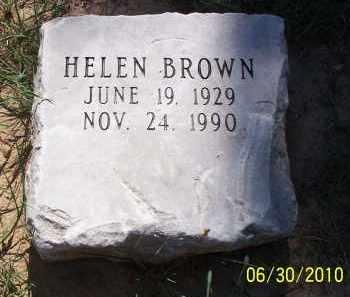 BROWN, HELEN - Jackson County, Arkansas | HELEN BROWN - Arkansas Gravestone Photos