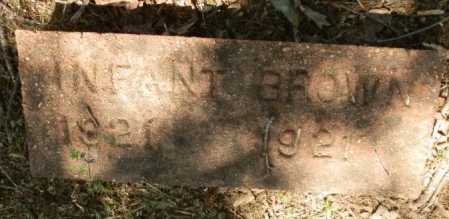 BROWN, INFANT - Jackson County, Arkansas | INFANT BROWN - Arkansas Gravestone Photos