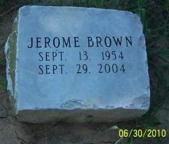 BROWN, JEROME - Jackson County, Arkansas | JEROME BROWN - Arkansas Gravestone Photos