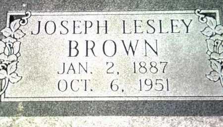 BROWN, JOSEPH LESLEY - Jackson County, Arkansas | JOSEPH LESLEY BROWN - Arkansas Gravestone Photos