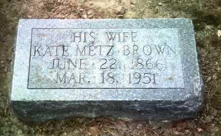 BROWN, KATE - Jackson County, Arkansas   KATE BROWN - Arkansas Gravestone Photos