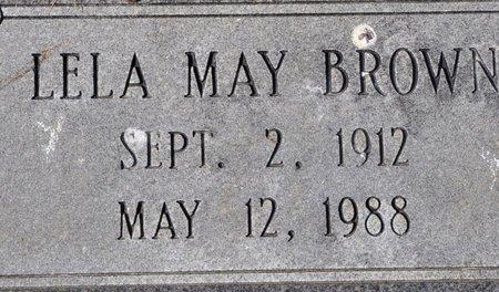 BROWN, LELA MAY - Jackson County, Arkansas | LELA MAY BROWN - Arkansas Gravestone Photos