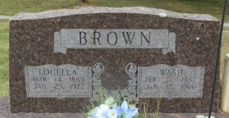 BROWN, LOUELLA - Jackson County, Arkansas | LOUELLA BROWN - Arkansas Gravestone Photos
