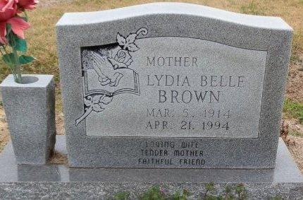 BROWN, LYDIA BELLE - Jackson County, Arkansas | LYDIA BELLE BROWN - Arkansas Gravestone Photos