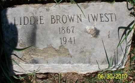 BROWN, LIDDIE - Jackson County, Arkansas | LIDDIE BROWN - Arkansas Gravestone Photos