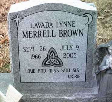 BROWN, LAVADA LYNNE - Jackson County, Arkansas   LAVADA LYNNE BROWN - Arkansas Gravestone Photos