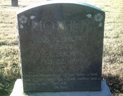 BROWN, LOIS H - Jackson County, Arkansas | LOIS H BROWN - Arkansas Gravestone Photos