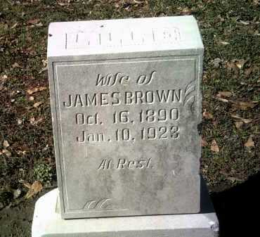BROWN, LILLIE - Jackson County, Arkansas | LILLIE BROWN - Arkansas Gravestone Photos