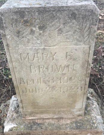 BROWN, MARY E - Jackson County, Arkansas | MARY E BROWN - Arkansas Gravestone Photos