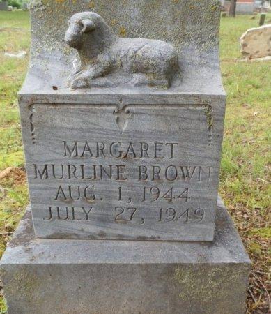 BROWN, MARGARET MURLINE - Jackson County, Arkansas | MARGARET MURLINE BROWN - Arkansas Gravestone Photos