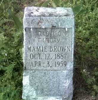 BROWN, MAMIE - Jackson County, Arkansas | MAMIE BROWN - Arkansas Gravestone Photos