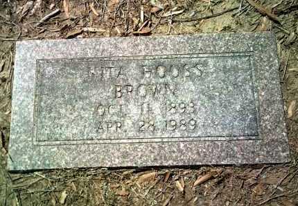 BROWN, NITA - Jackson County, Arkansas | NITA BROWN - Arkansas Gravestone Photos