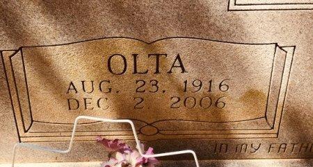 BROWN, OLTA (CLOSE UP) - Jackson County, Arkansas | OLTA (CLOSE UP) BROWN - Arkansas Gravestone Photos