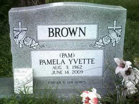 BROWN, PAMELA YVETTE - Jackson County, Arkansas | PAMELA YVETTE BROWN - Arkansas Gravestone Photos