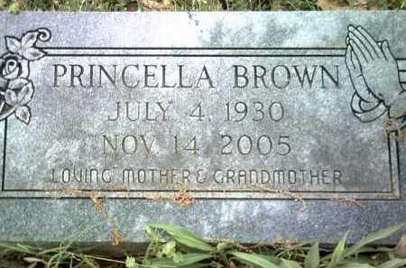 BROWN, PRINCELLA - Jackson County, Arkansas | PRINCELLA BROWN - Arkansas Gravestone Photos