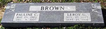 BROWN, PAULINE C. - Jackson County, Arkansas | PAULINE C. BROWN - Arkansas Gravestone Photos