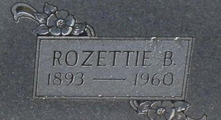 BROWN, ROZETTIE B. (CLOSE UP) - Jackson County, Arkansas | ROZETTIE B. (CLOSE UP) BROWN - Arkansas Gravestone Photos