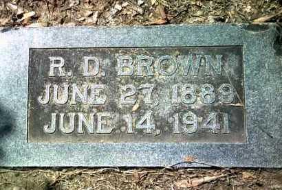 "BROWN, RICHARD DARL ""DICK"" - Jackson County, Arkansas   RICHARD DARL ""DICK"" BROWN - Arkansas Gravestone Photos"
