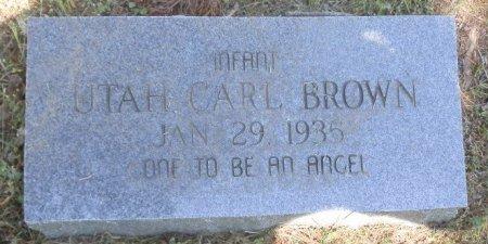 BROWN, UTAH CAROL - Jackson County, Arkansas | UTAH CAROL BROWN - Arkansas Gravestone Photos