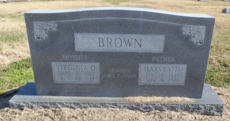 BROWN, VIRGINIA O. - Jackson County, Arkansas | VIRGINIA O. BROWN - Arkansas Gravestone Photos