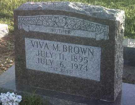 BROWN, VIVA M - Jackson County, Arkansas | VIVA M BROWN - Arkansas Gravestone Photos