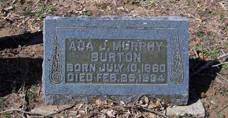 BURTON, ADA J - Jackson County, Arkansas   ADA J BURTON - Arkansas Gravestone Photos