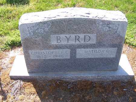 BYRD, CHRISTOPHER COLUMBUS - Jackson County, Arkansas | CHRISTOPHER COLUMBUS BYRD - Arkansas Gravestone Photos