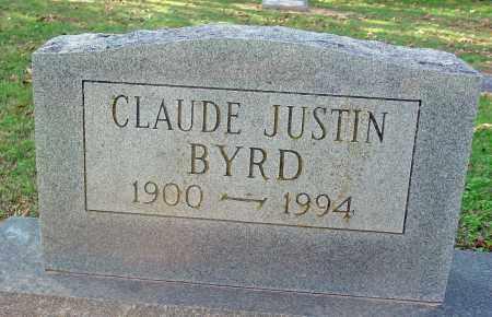 BYRD, CLAUDE JUSTIN - Jackson County, Arkansas | CLAUDE JUSTIN BYRD - Arkansas Gravestone Photos
