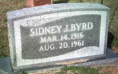 BYRD, SIDNEY J - Jackson County, Arkansas | SIDNEY J BYRD - Arkansas Gravestone Photos
