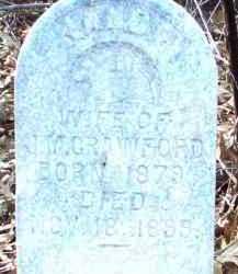 CRAWFORD, NANCY - Jackson County, Arkansas   NANCY CRAWFORD - Arkansas Gravestone Photos