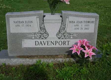 DAVENPORT, BIBA JEAN - Jackson County, Arkansas   BIBA JEAN DAVENPORT - Arkansas Gravestone Photos