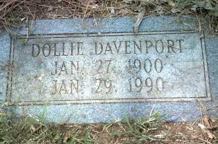 DAVENPORT, DOLLIE - Jackson County, Arkansas   DOLLIE DAVENPORT - Arkansas Gravestone Photos