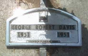 DAVIS, GEORGE ROBERT - Jackson County, Arkansas | GEORGE ROBERT DAVIS - Arkansas Gravestone Photos