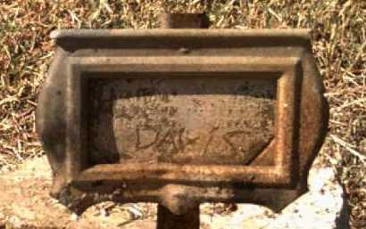 DAVIS, H J - Jackson County, Arkansas | H J DAVIS - Arkansas Gravestone Photos