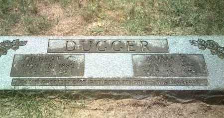 DUGGER, EMMA E - Jackson County, Arkansas | EMMA E DUGGER - Arkansas Gravestone Photos