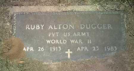 DUGGER (VETERAN WWII), RUBY ALTON - Jackson County, Arkansas | RUBY ALTON DUGGER (VETERAN WWII) - Arkansas Gravestone Photos