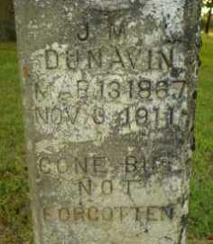 DUNAVIN (PIC2), J M - Jackson County, Arkansas | J M DUNAVIN (PIC2) - Arkansas Gravestone Photos